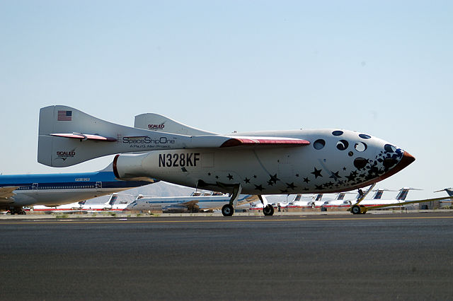 SpaceShipOne By D. Ramey Logan