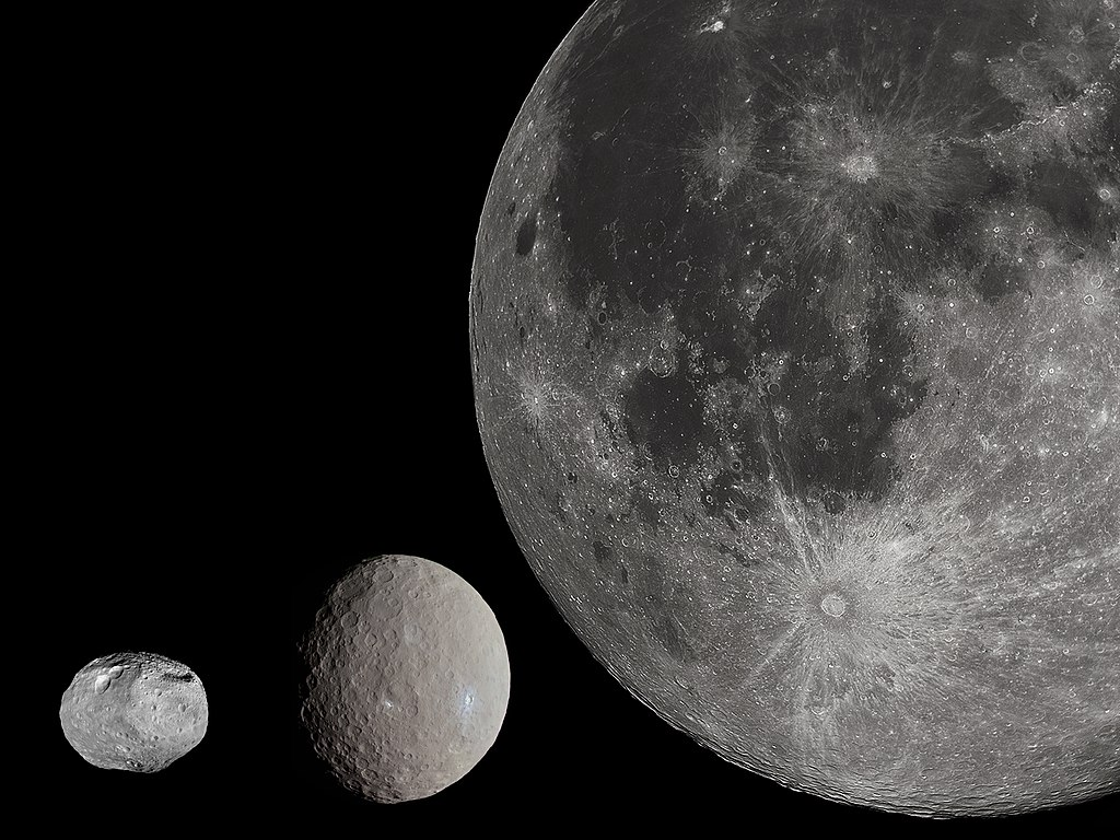 Ceres Moon Size Comparison
