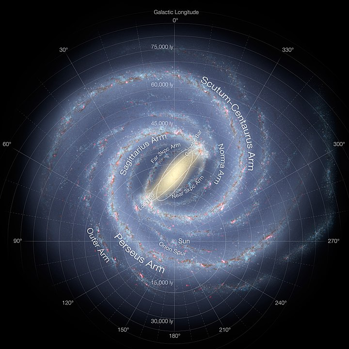 Artist's Expression Of The Milky Way