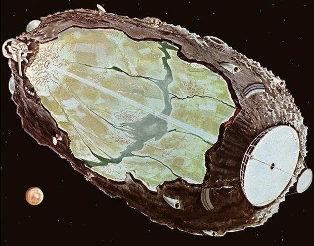 Asteroid Colony