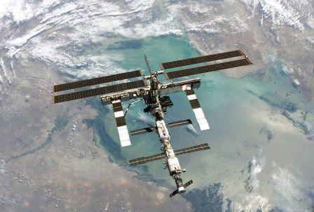 Iss Over Persian Gulf