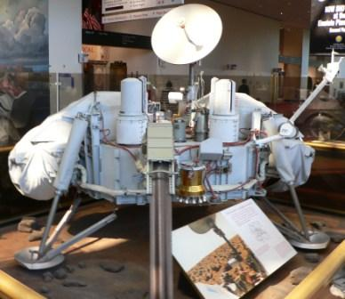 Model Of The Viking Lander