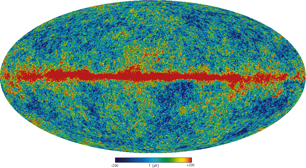 Temperature Map Of The Universe