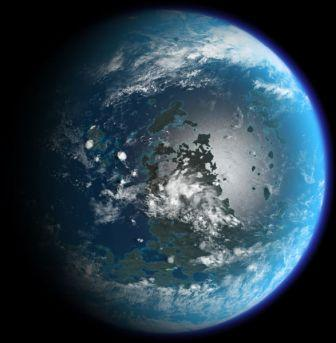 Terraformed Moon